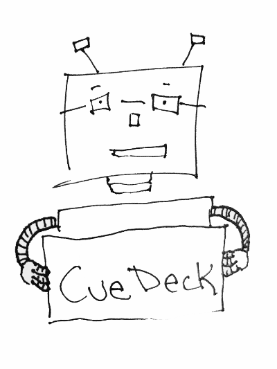 CueDeck the robot